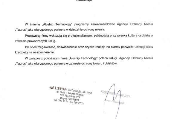 aluship technology